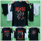 acdc shirt logo rock out your car best seller tour concert black unisex tee band