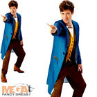 Newt Scamander Mens Fancy Dress Fantastic Beasts Film Character Costume Outfit