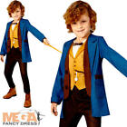 Deluxe Newt Scamander Childs Fancy Dress Fantastic Beasts Film Character Costume