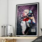 Harley Quinn - SUICIDE SQUAD - Margot Robbie FINE ART Print Wall Poster HQ