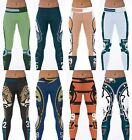NFL Sport Pants Fitness American Football Leggings Yoga Pants Women Run S-4XL