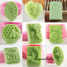 Silicone Flowers Soap Mould Cake Decorating Cookie Chocolate Fondant DIY Craft