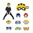 Transformers Masks - Felt masks for Kids Halloween Costume Birthday Party Favor