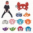 Oceam Masks - Felt masks for Kids Halloween Costume Birthday Party Favor