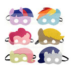 MLP Masks - Felt masks for Kids Halloween Costume Birthday Party Favor