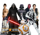 STAR WARS CHARACTER LIFESIZE CARDBOARD CUTOUT STANDEE STANDUP cutouts Characters $64.25 AUD