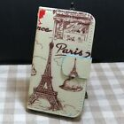 Paris Tower Girl with Cat Deer Wallet Flip case cover for Microsoft Nokia Luma
