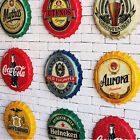 Retro Metal Tin Beer Bottle Caps Sign Poster Bar Pub Club Wall Home Decor Plaque