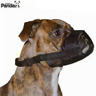 1X Adjustable Dog Mask Muzzel Fit Stop Biting Barking Chewing Small Medium Large
