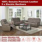 Wester Leather 3 seater 2 seater 1 seater recliner sofa lounge suite chair couch