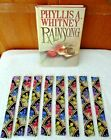 BOOKMARKS~FLORAL~Set Of 2~Fabric~Reversible~Washable~NEW~FREE SHIP