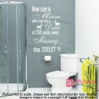 Funny Toilet sign vinyl wall Stickers Toilet rules quotes Decal Shop home Decor