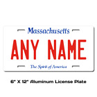 Personalized Massachusetts License Plate for Bicycles,  Kid's Bikes