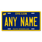 Personalized Oregon License Plate for Bicycles, Kid's Bikes & Cars Ver 2