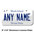 Personalized Rhode Island License Plate for Bicycles,  Kid's Bikes