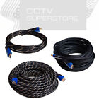 High Speed HDMI 1.4 Cable 6ft 10ft 20ft 30ft 35ft 40ft 50ft Bluray HDTV XBOX LOT