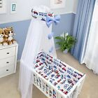 CRIB BABY BEDDING SET CRADLE PILLOW DUVET CANOPY COVER BUMPER MULTIPLE PATTERNS