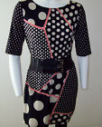 SoUniquelyU Casual Polyester Blend Geometric Print Tunic/Dress w/Elbow Sleeves