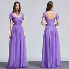 new wedding bridesmaid formal evening maxi chiffon prom party women dress ball