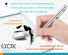 1.4mm copper high precision active capacitive drawing stylus pens iPad Surface