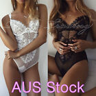 Sexy Lingerie Women Lace Dress Bodysuit Nightwear Underwear Babydoll Sleepwear