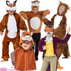 CHILDRENS MR FOX BOOK WEEK DAY STORYBOOK CHARACTER KIDS FANCY DRESS COSTUME