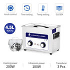 Stainless 6L Industry Ultrasonic Cleaner Bath Digital w/Timed Heated Tank OEM