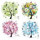Counted Cross Stitch Embroidery Kits DIY Needlework 45cm x 45cm: Tree of Life