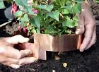 Copper slug bands rings stop slugs snails organic  protect plants vegetables