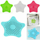 Star Plastic Bath Kitchen Waste Sink Strainer Hair Filter Drain Catcher Cover