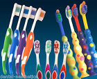Childrens Toothbrush x 4 ~ Bulk Multipack Options Kids Teeth for 3, 5, 7 years +