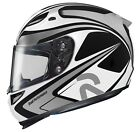 HJC Black/Silver/White RPHA-10 Zappy Larry Pegram Replica Motorcycle Helmet MC-5