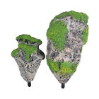 Aquarium Artificial Floating Pumice Suspended Stone Fish Tank Decor Moss Rock LJ