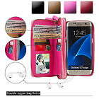 Leather Case Removable Wallet Magnetic Card Cover For Samsung Galaxy Phones