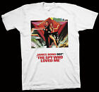 The Spy Who Loved Me T-Shirt Lewis Gilbert, Roger Moore, Hollywood Cinema Film $23.92 CAD on eBay