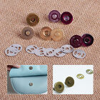 18mm Round Magnetic Snap Closures Button Clasp Press Studs Round Bag Purse Craft