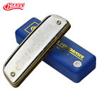 Genuine HUANG Card 10 hole Bruce 102 classic beginner ten hole blue harmonica