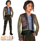 Jyn Erso Girls Fancy Dress Star Wars Rogue One Movie Kids Childrens Costume New