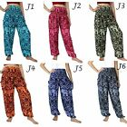 Harem Pants Maxi Baggy Boho Gypsy Thai Elephat Hippie Pant Trousers US Size 0-12