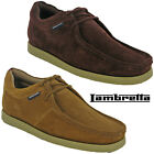 Lambretta Leather Desert Ankle Boots Mens Carnaby 3 Eye Lace Suede UK6-11