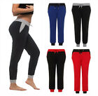 LADIES WOMENS JOGGERS JOGGING TRACKSUIT BOTTOMS JOG SWEAT PANTS SIZES 10-18