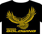 T shiirt up to 5XL Honda Goldwing classic motorcycle biker badge logo manual