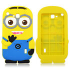 Kids 3D Cute Yellow Cartoon Soft Silicone Cover Case For Universal 7inch Tablet