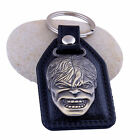 New Men Black Metal Key Chain Creative Gift Car Ring Keychain Keyfob Accessories