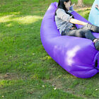 New Inflatable Sofa Air Bed Lounger Chair Outdoor Sleeping Bag Mattress Portable