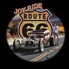 Route 66 T Shirts Rat Rod Pinup Girl Joy Ride USA Small to 2XL Free Shipping