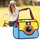 3d Jump Style 2d Drawing From Cartoon Paper Shoulder Bag Comic Backpack Totes Bv