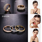 3 Laps Engagement Ring Sets Fashion Women Gold/Silver Plated Stack Jewelry