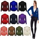 New Ladies Womens Studded ONE Button Spike Shoulder Blazer Coat Jacket TOP 8-26