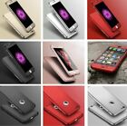 New Hybrid 360° Hard Ultra thin Case+Tempered Glass Cover For iPhone 6 7 8Plus X